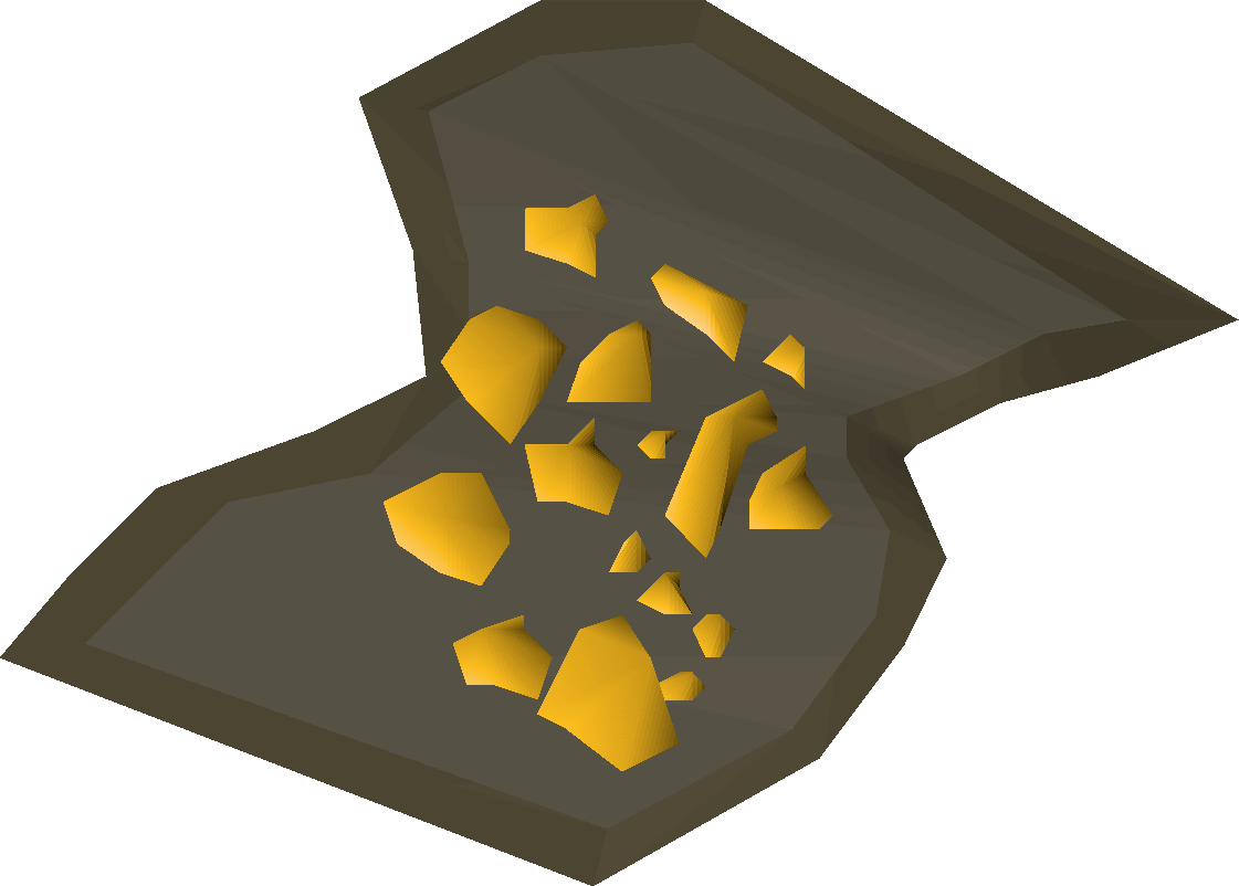 Gold old school runescape. Dust clipart dust trail