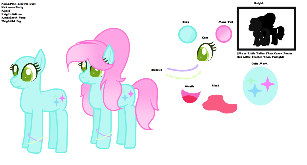 My oc pink electric. Dust clipart dusty