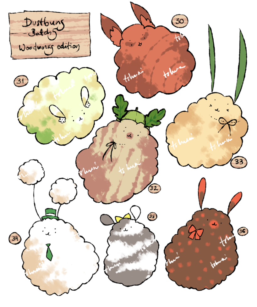 Adoptables set price bunnies. Dust clipart dusty weather