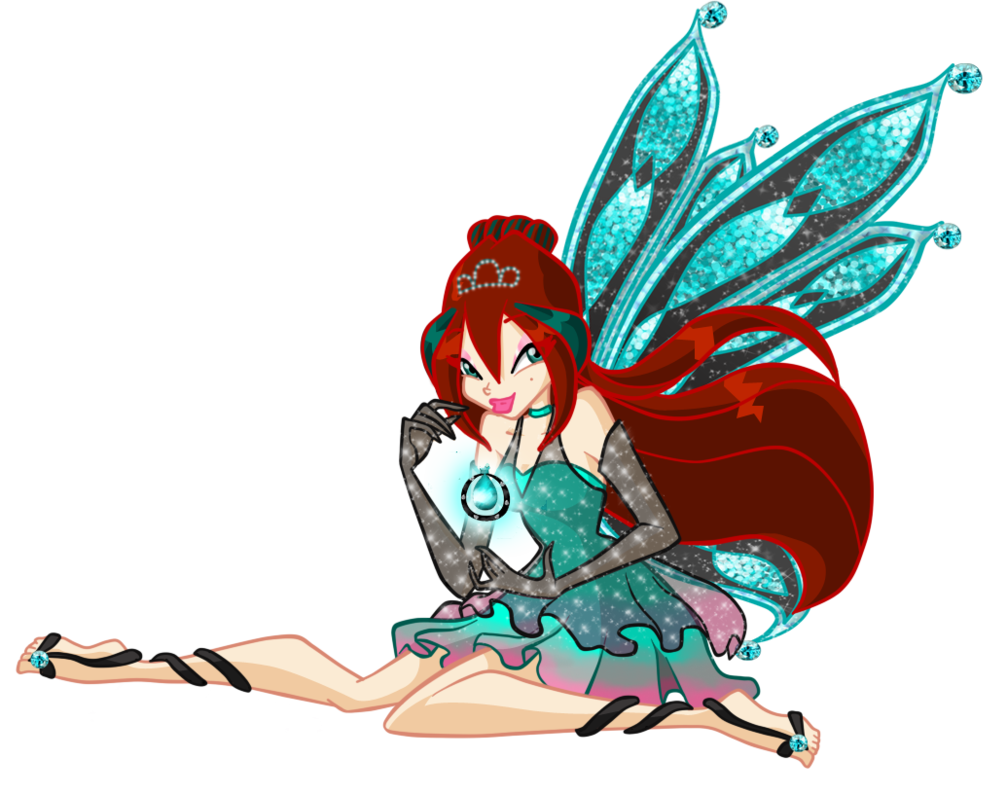 Dust clipart fairy dust. Rouge enchantix and by