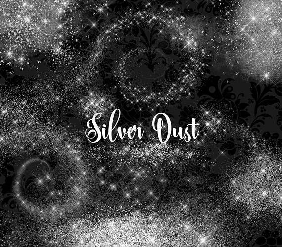 Dust clipart glitter dust. Silver clip art pixie