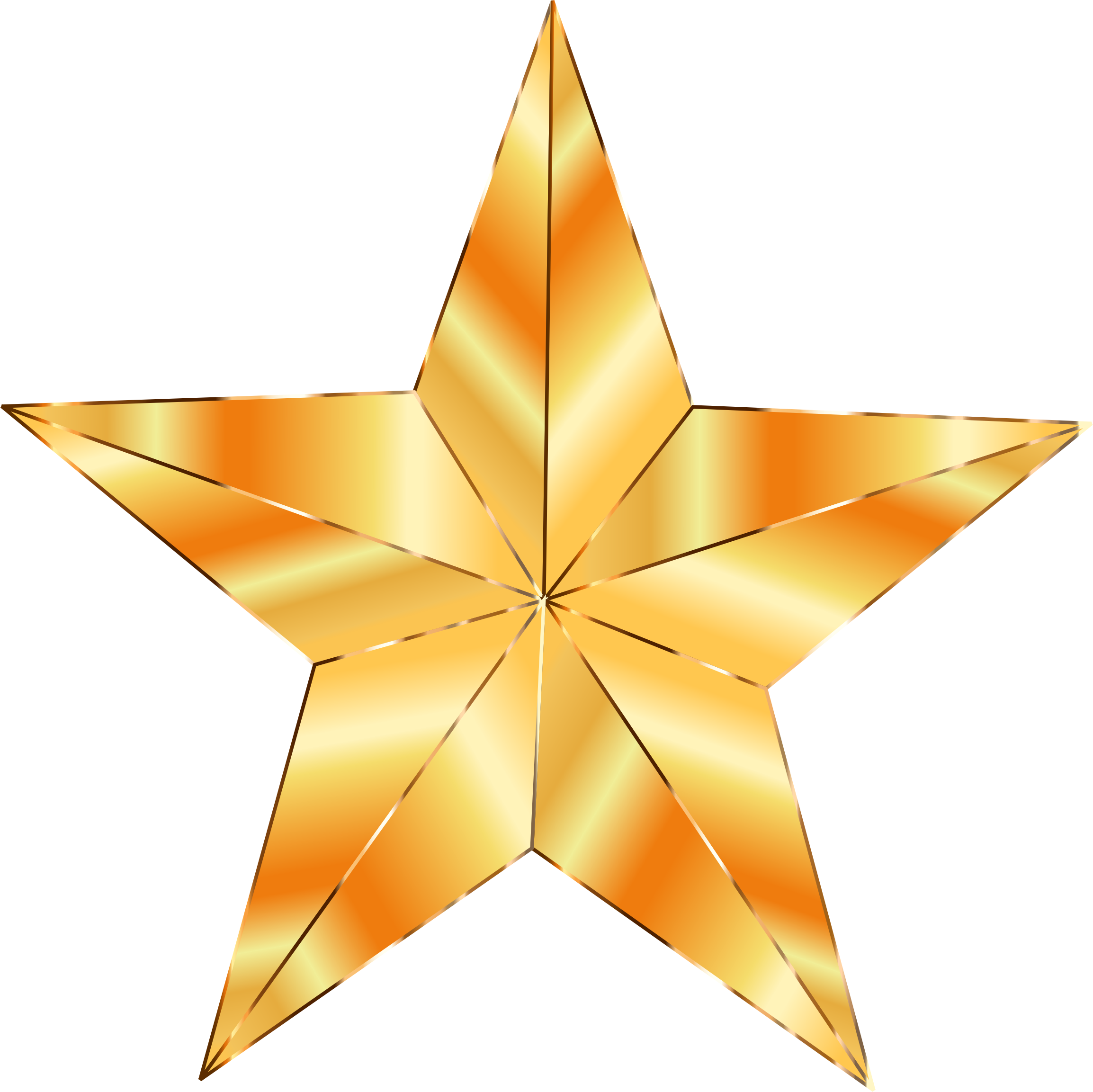 By gdj the used. Hollywood clipart golden star