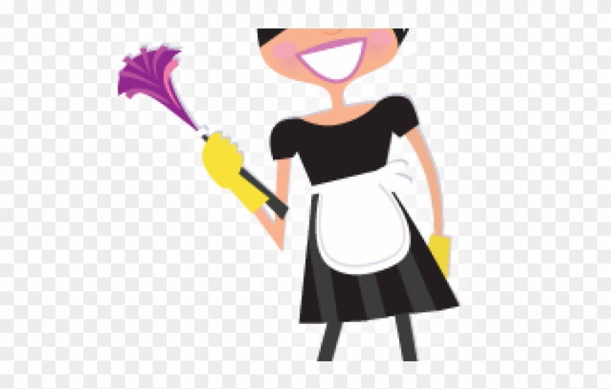 Dust house maids cleaning. Maid clipart clean