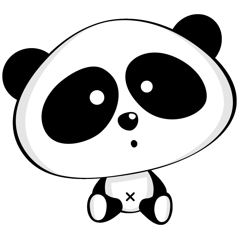 De osos panda oh. Scrapbook clipart pandas