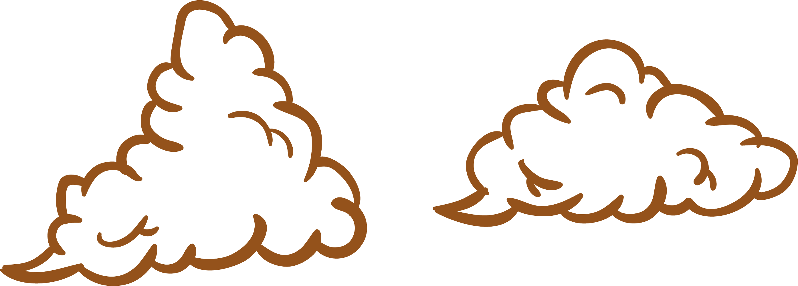 Dust clipart orange. Cloud fog clip art