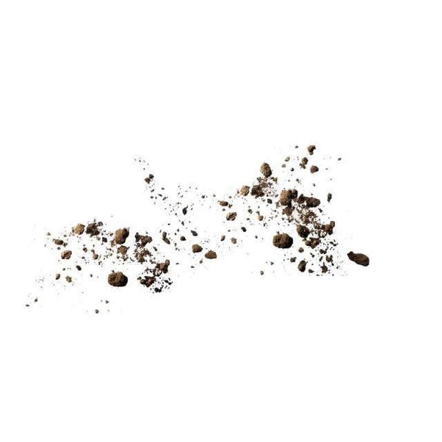 Dust clipart soil. Particles spread explode png