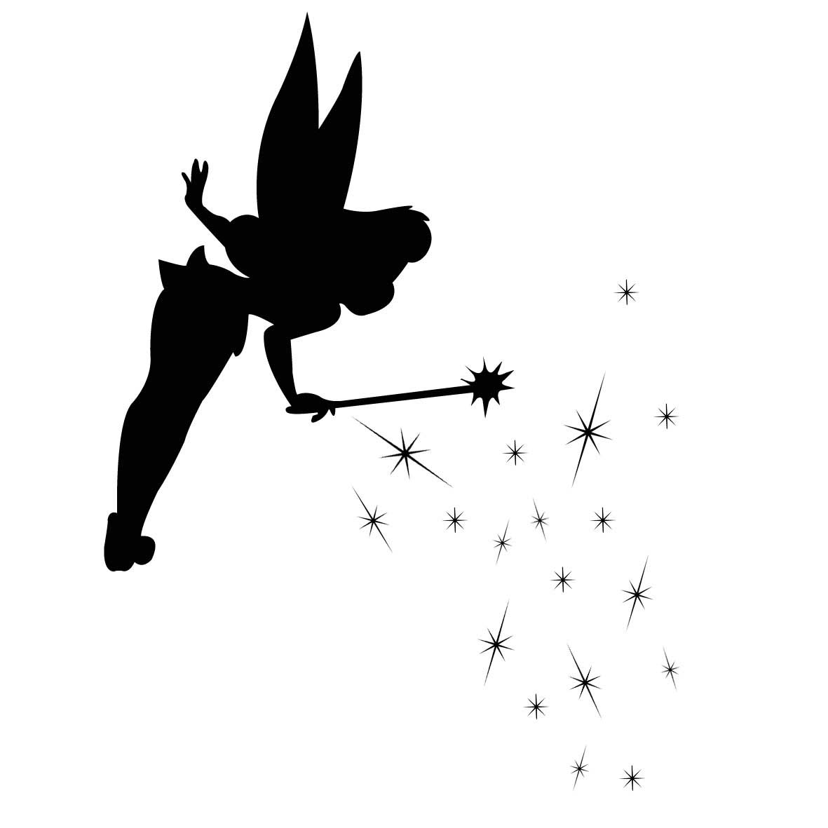 Pixie dust free download. Tinkerbell clipart flying