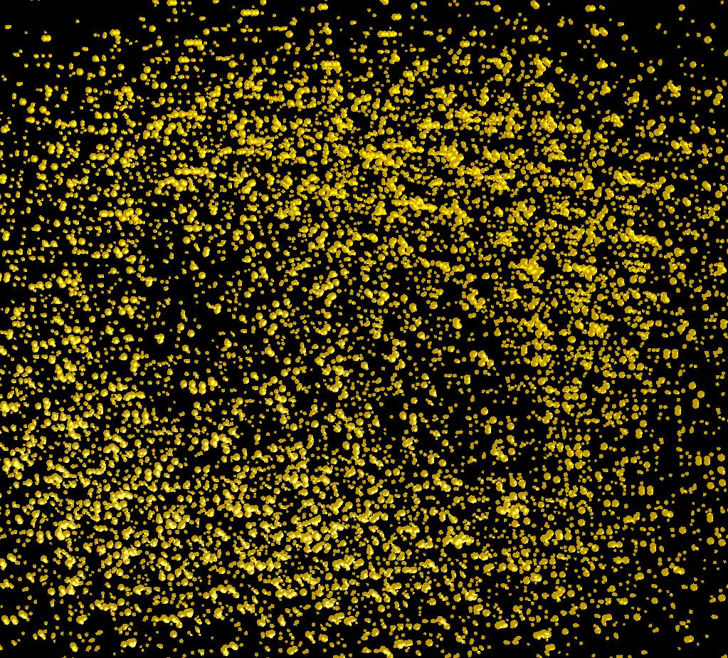 Gold golddust rain glitter. Dust clipart yellow