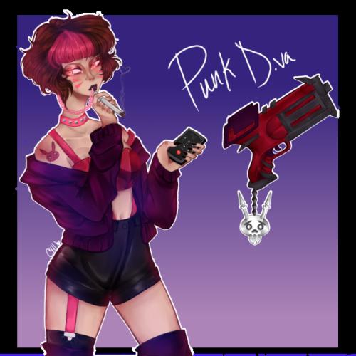 Punk dva tumblr . D.va overwatch png