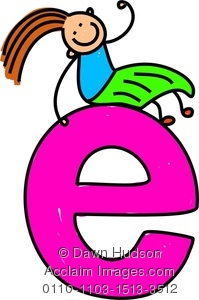 E clipart. Letter stock photography acclaim