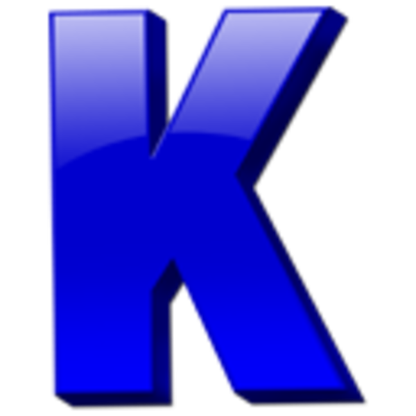 E clipart blue letter.  collection of k