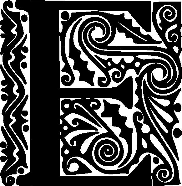 Clip art at clker. E clipart design alphabet