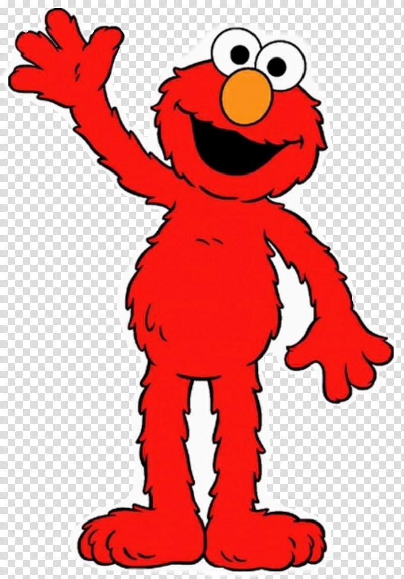 Cookie monster big bird. Elmo clipart happy