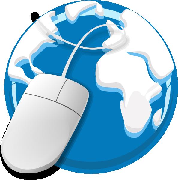 E clipart large. Internet usage clip art