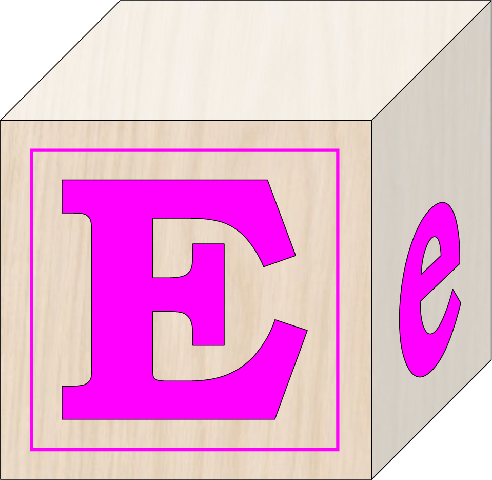 E clipart letter e. Blocks free images at