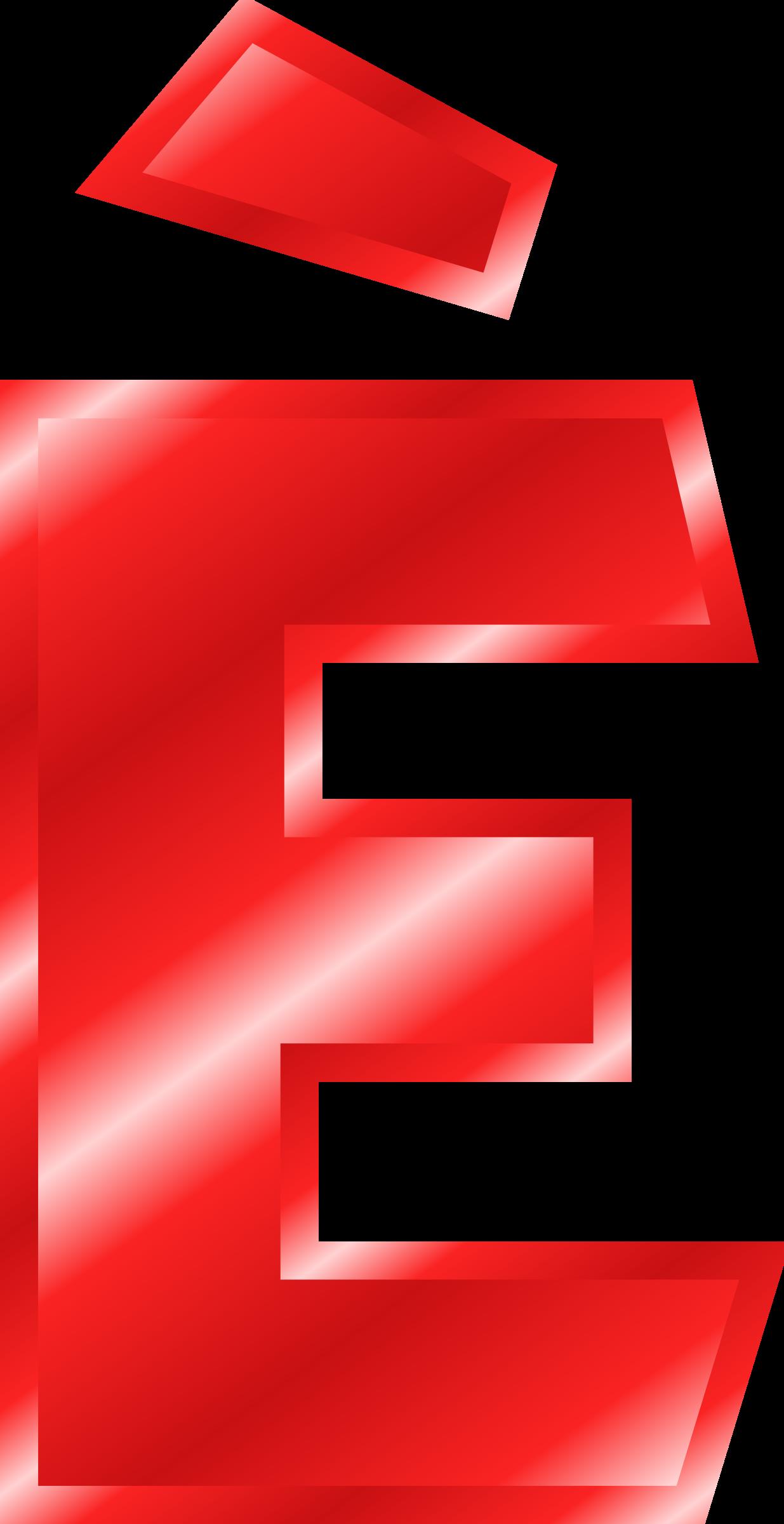 Effect letters alphabet red. E clipart letter e