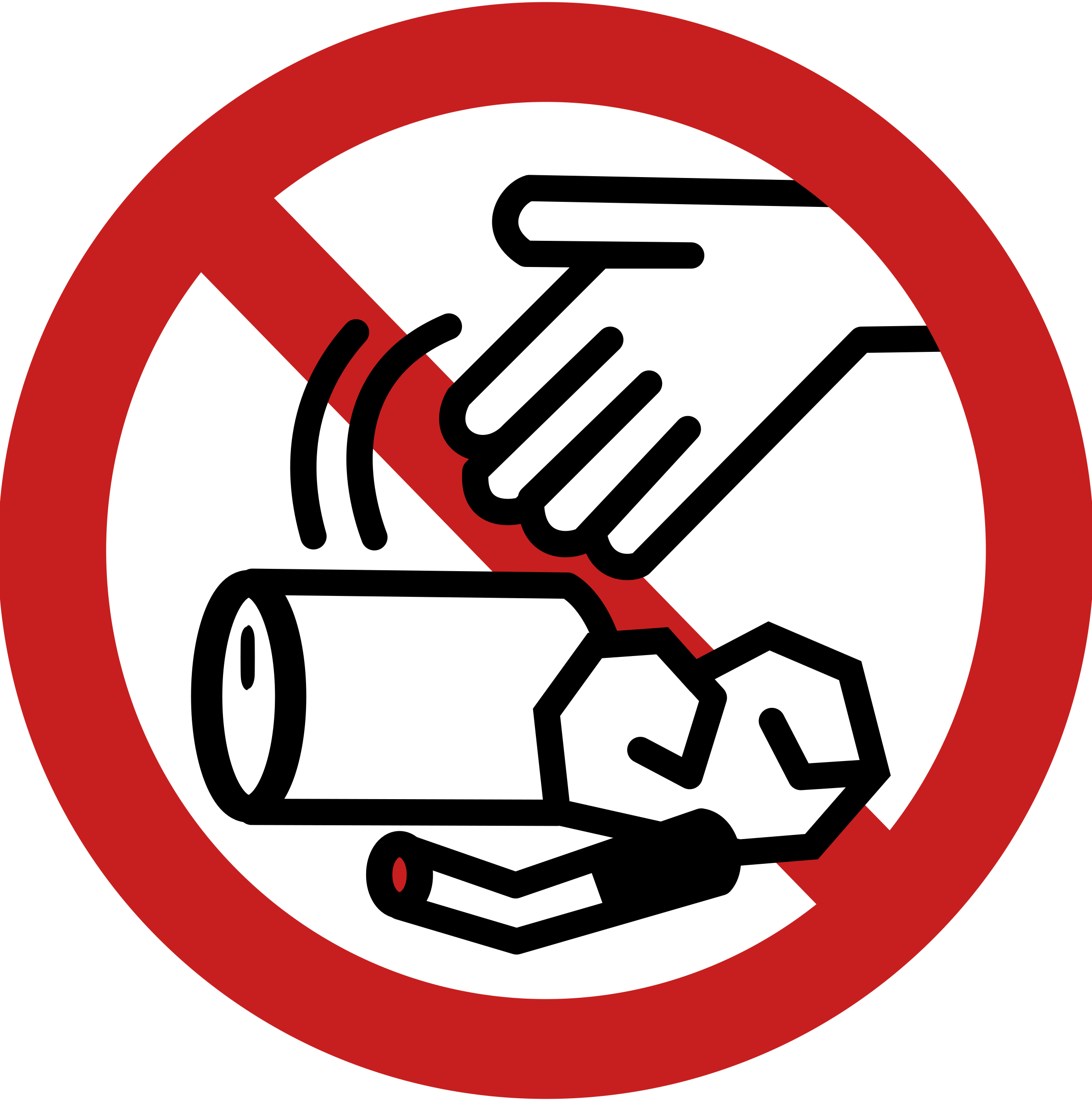 E clipart litter. No littering sign big