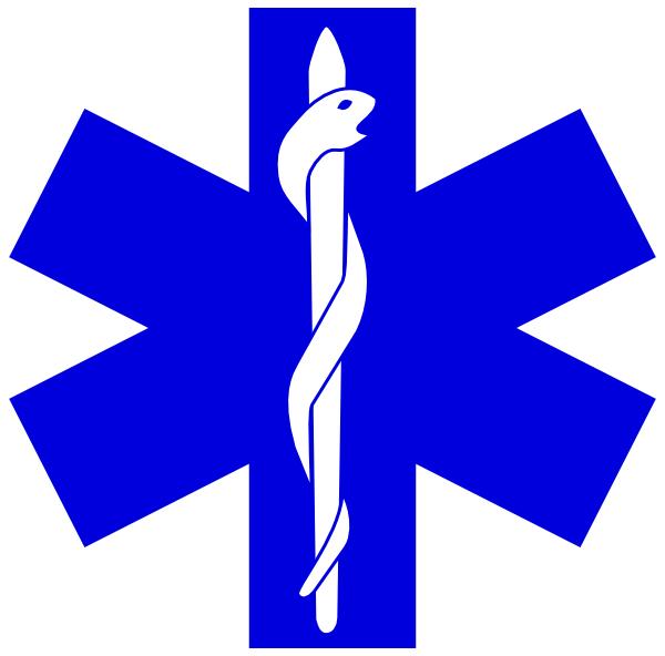 E clipart logo. Paramedic simple clip art
