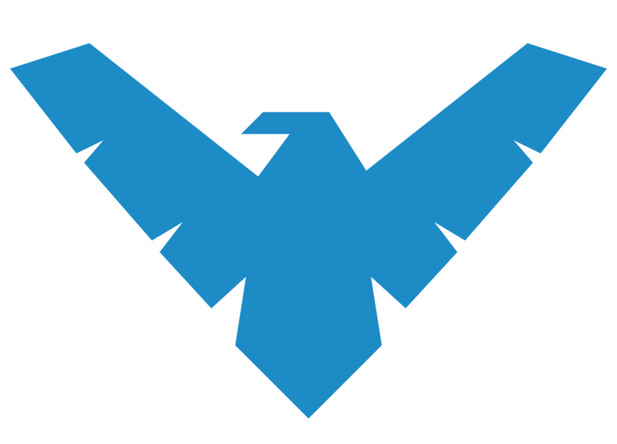 E clipart logo. Image nightwing png wiki