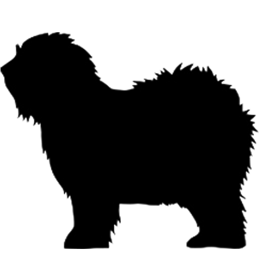 Sheepdog silhouette at getdrawings. E clipart old english