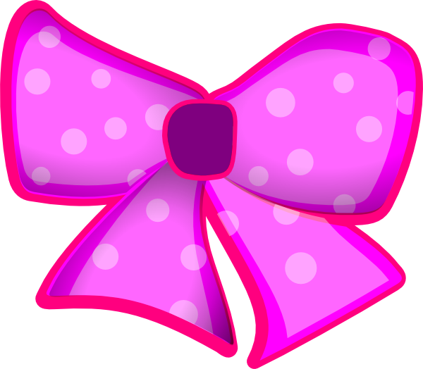 E clipart pink. Bow clip art at