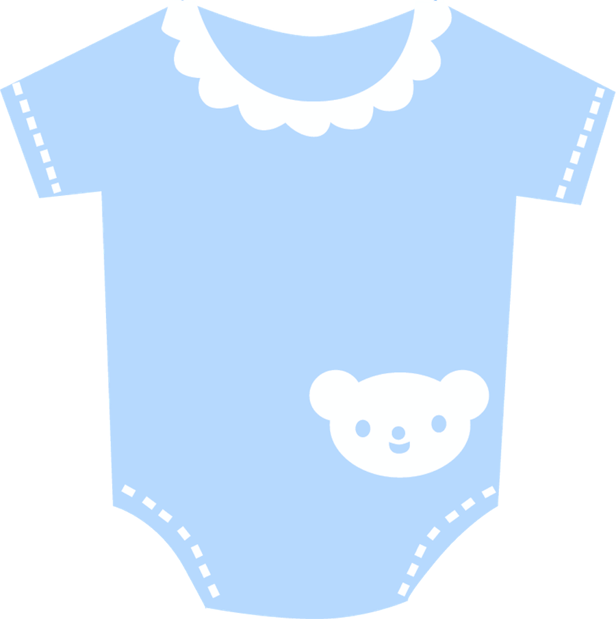 Vest blue baby