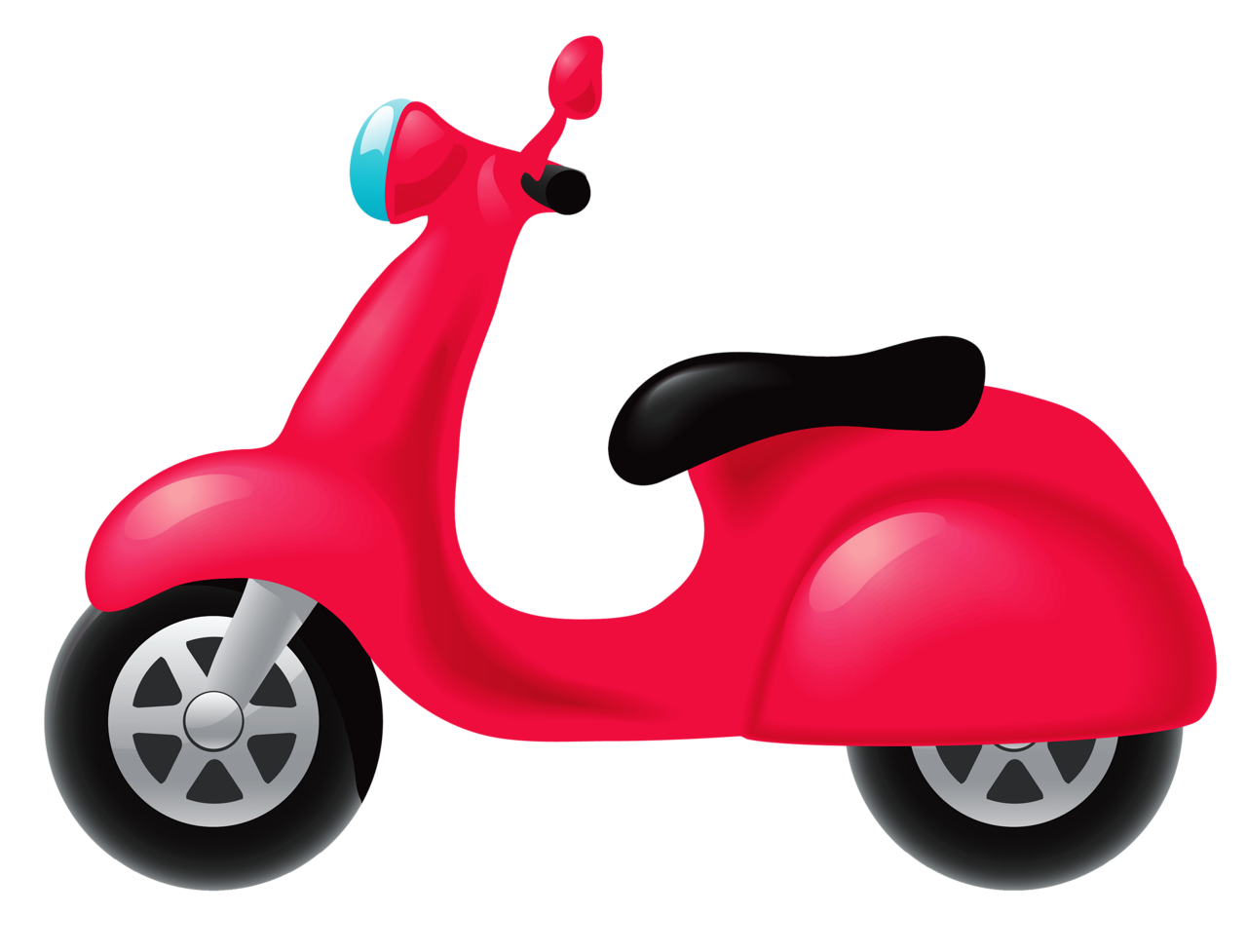 E clipart scooter.  png planes trains