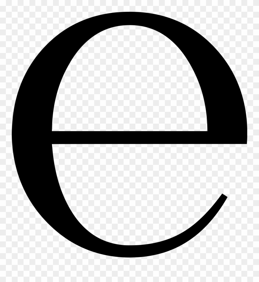 Letter png and capital. E clipart small