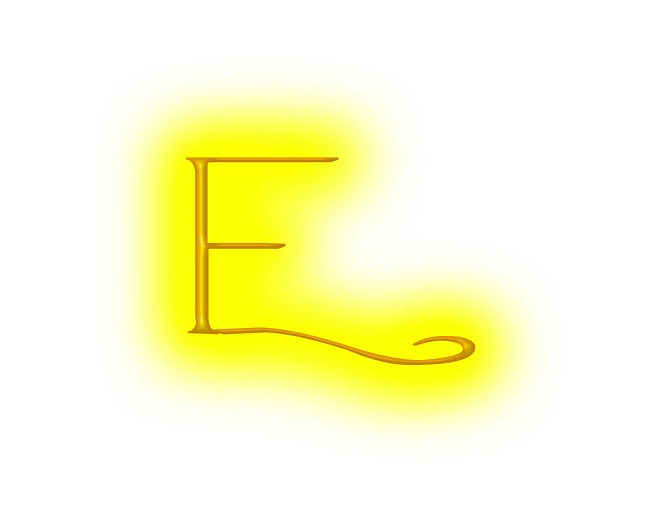 Images of spacehero d. E clipart yellow letter