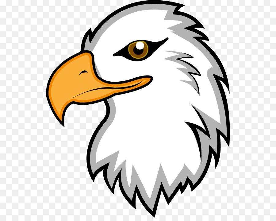 Cartoon bird transparent clip. Eagle clipart