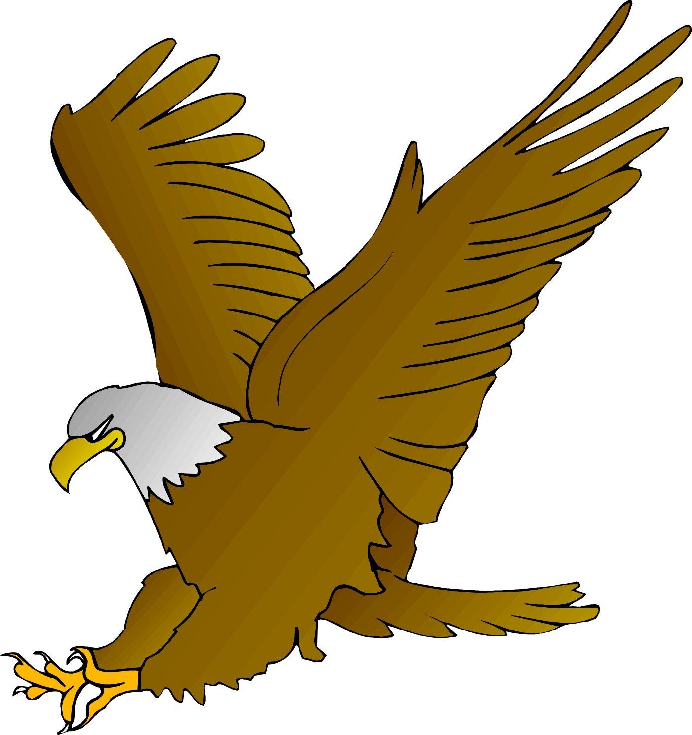 Cartoon amos elementary. Eagle clipart
