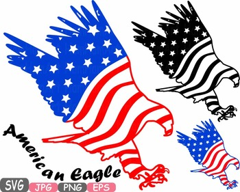 Eagles clipart svg. American flag eagle independence