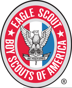 Scout free images at. Eagle clipart badge