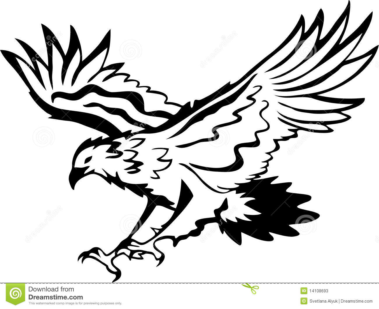 Free eagle download clip. Eagles clipart black and white