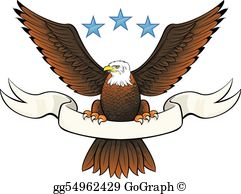 Bald clip art royalty. Eagle clipart bold eagle