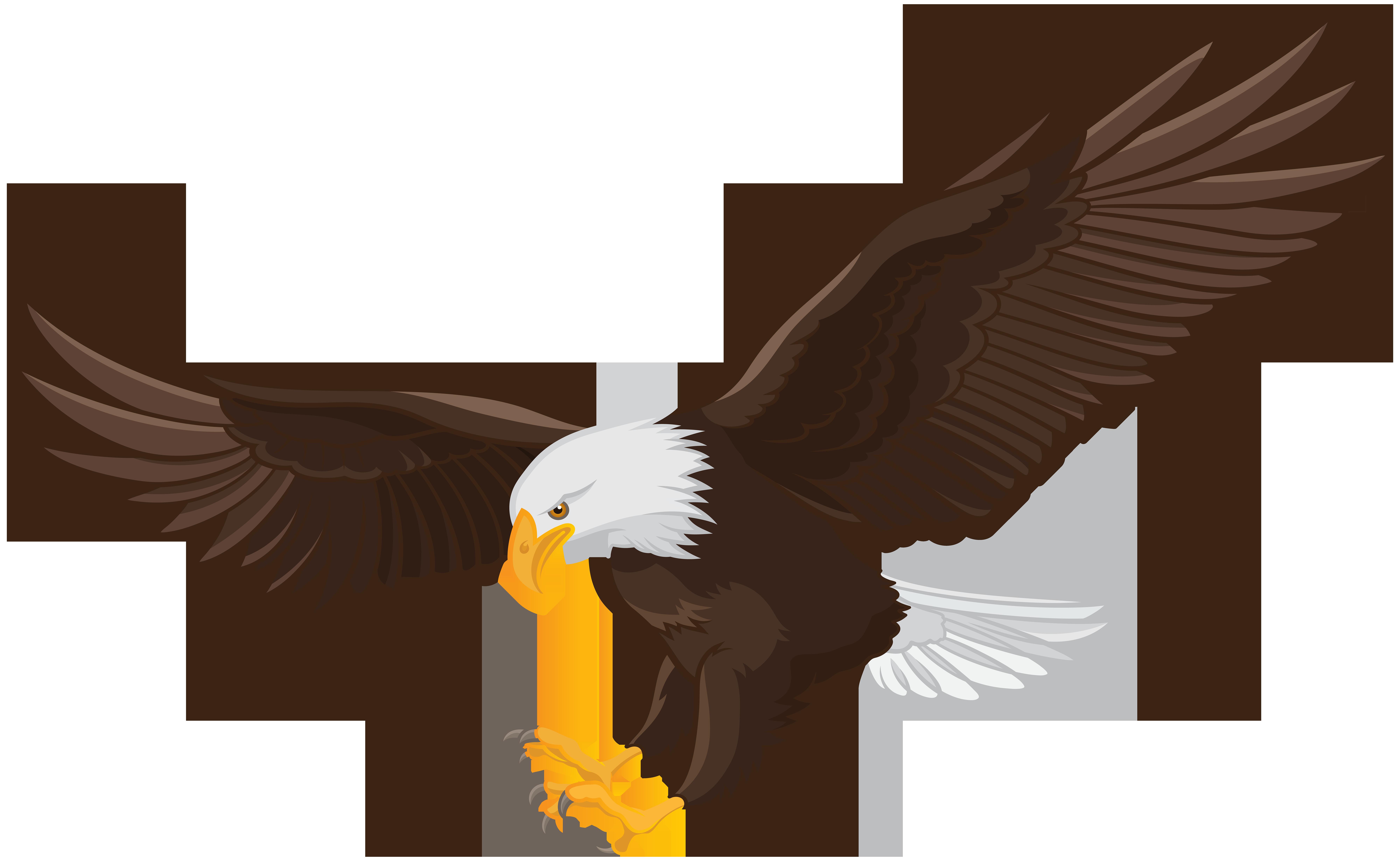 Eagle clipart dead, Eagle dead Transparent FREE for ...