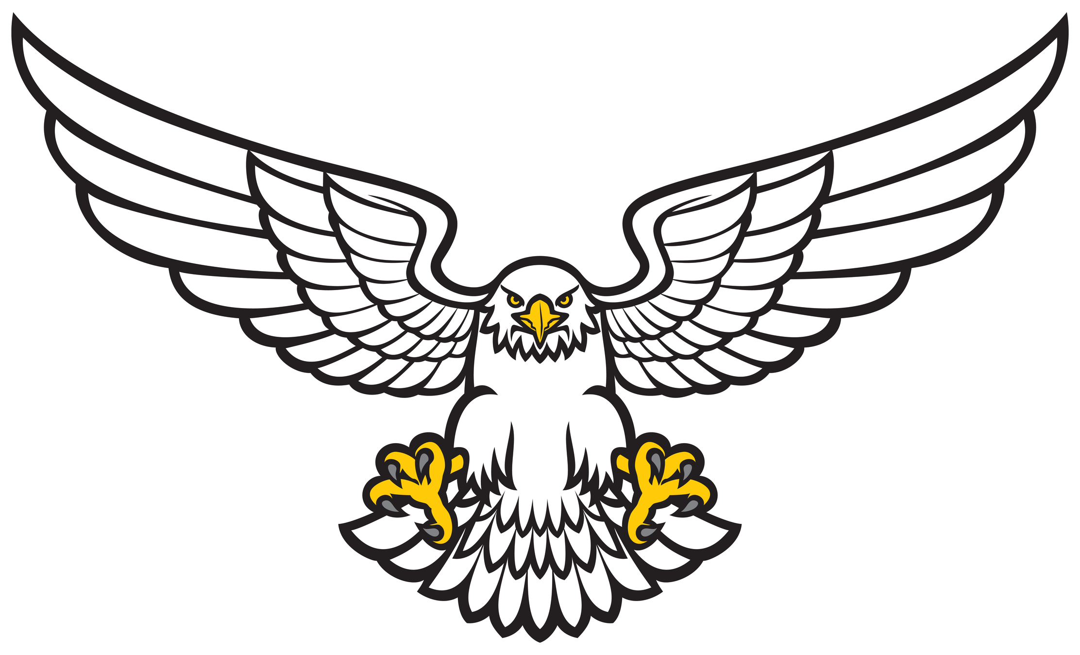 Free cliparts drawing download. Eagle clipart easy