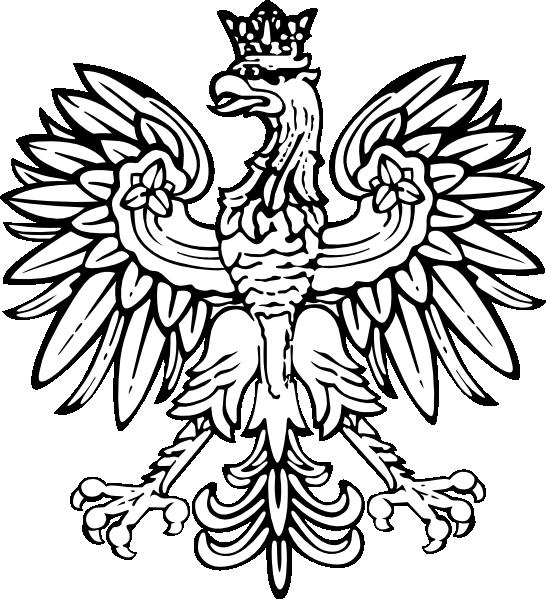 Polish clip art at. Eagle clipart easy