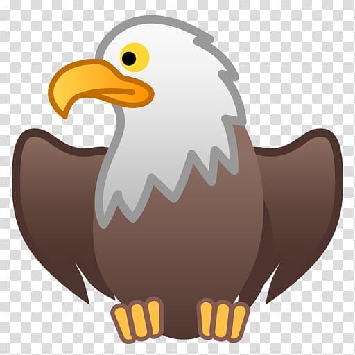 Bald kids snake vs. Eagle clipart emoji