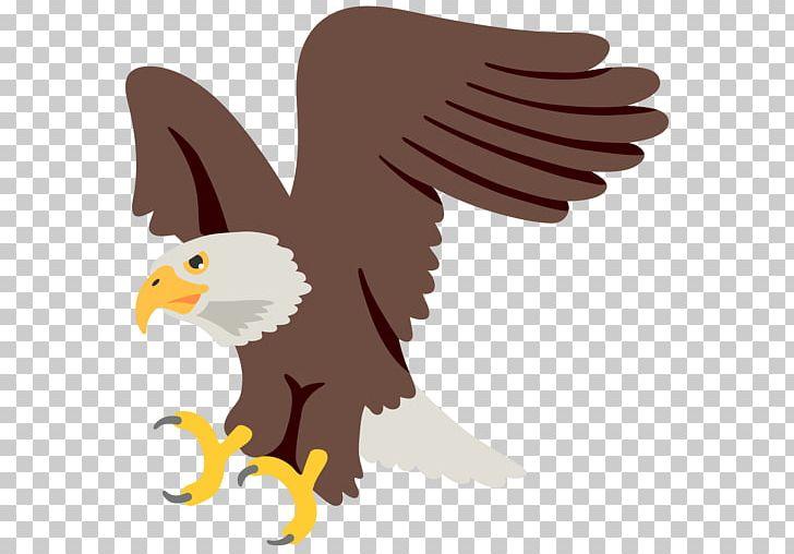 Eagle clipart emoji. Bald noto fonts hawk