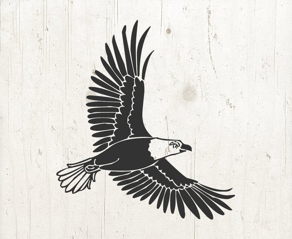 Eagle clipart file. Svg cut files flying