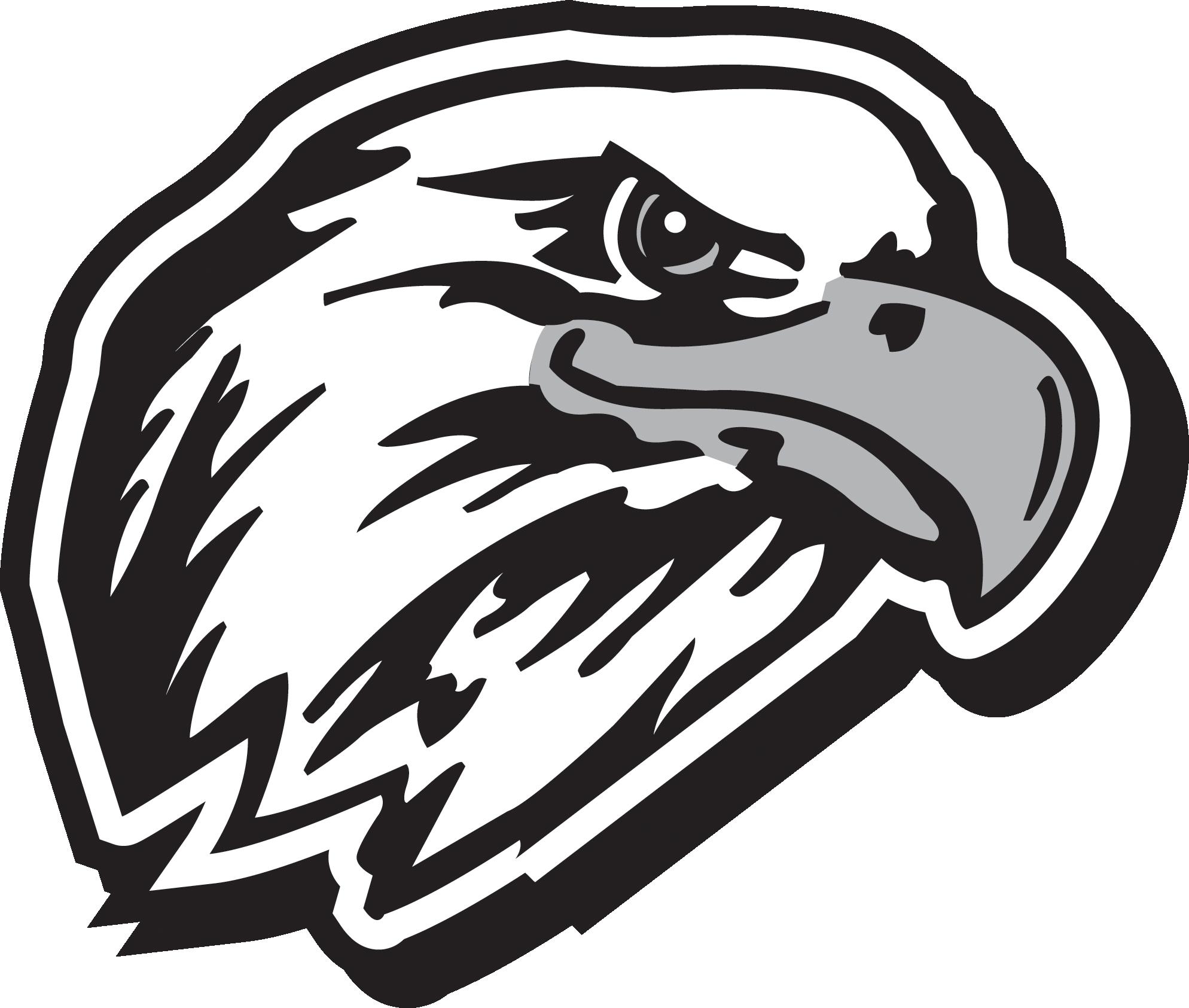 Logo drawing at getdrawings. Football clipart eagles