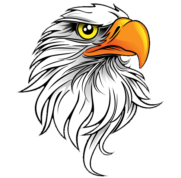 Icons png vector free. Eagle clipart icon