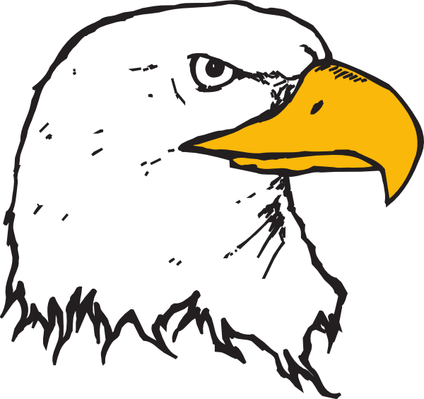 Beak pencil and in. Eagle clipart line