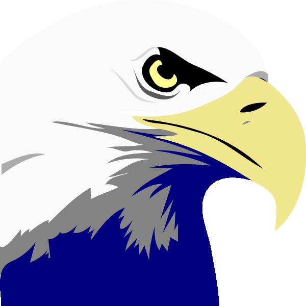 Bald clip art at. Eagle clipart name
