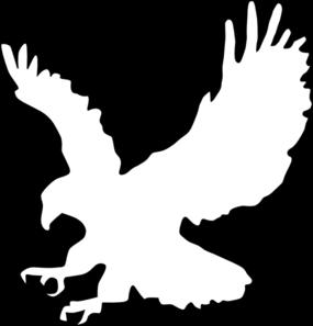 Eagle clipart outline. American clip art vector