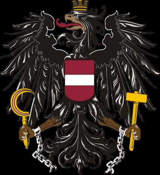Austrian austria pinterest tattoo. Eagle clipart passport