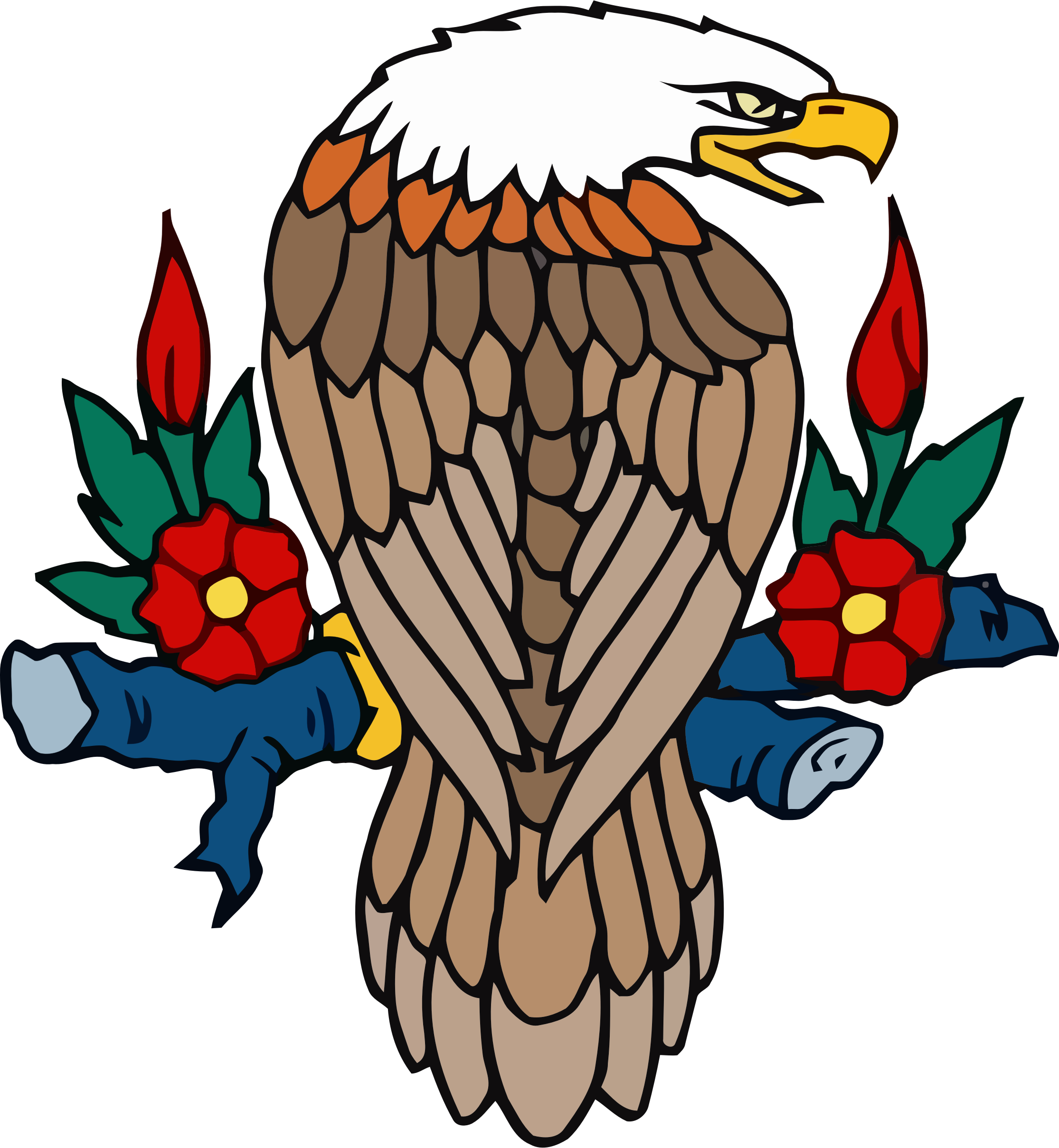 Eagle clipart perched. Bald bclipart eaglebclipart animals