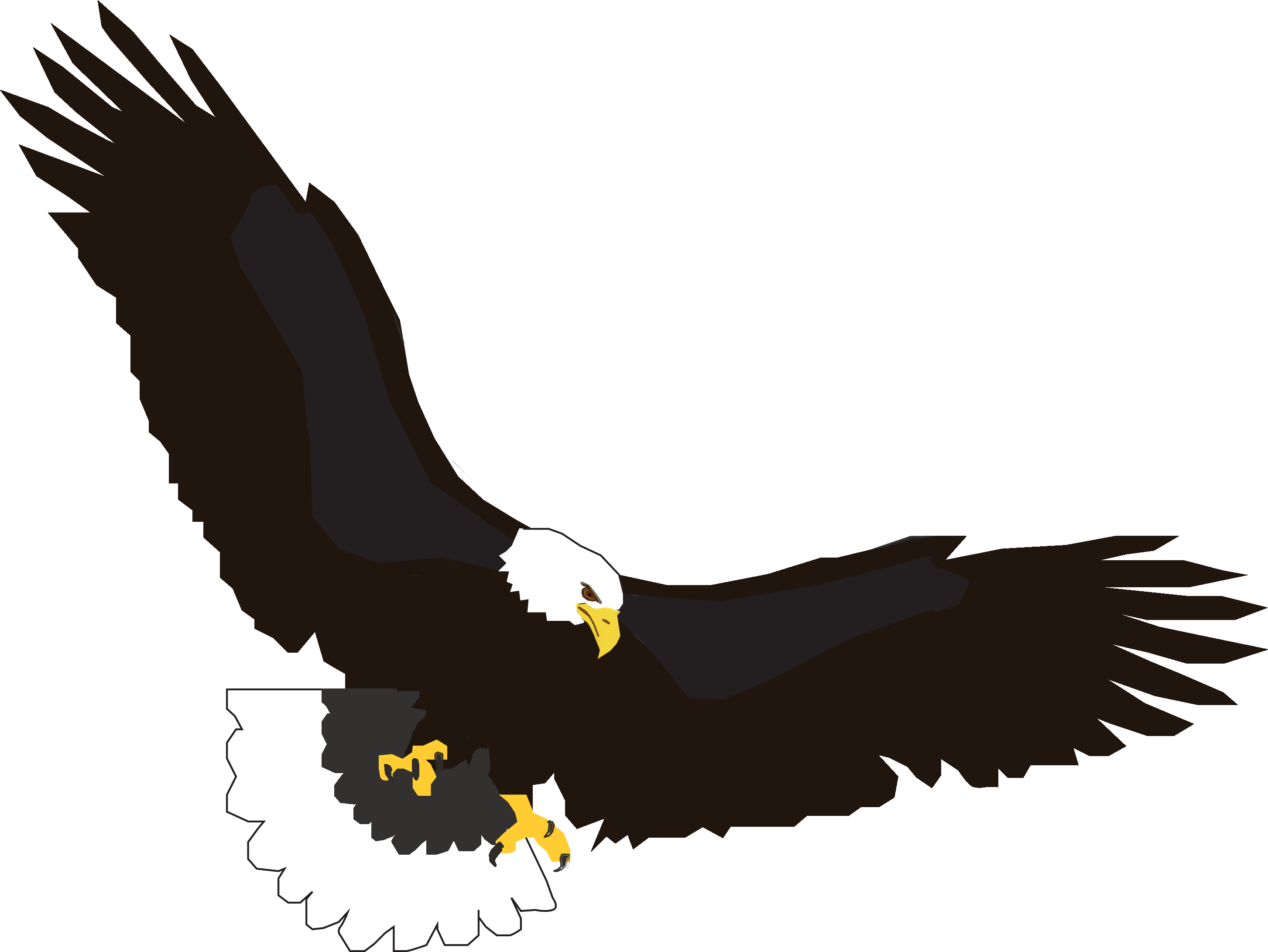 Flying free collection download. Eagle clipart printable