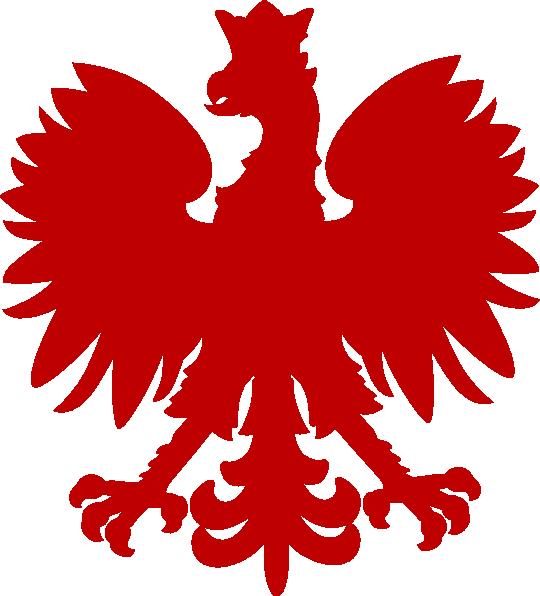 Eagle clipart red. Dark polish falcon clip